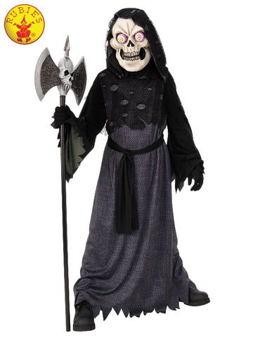 BIG EYED SKELETON HALLOWEEN COSTUME, CHILD - SIZE M