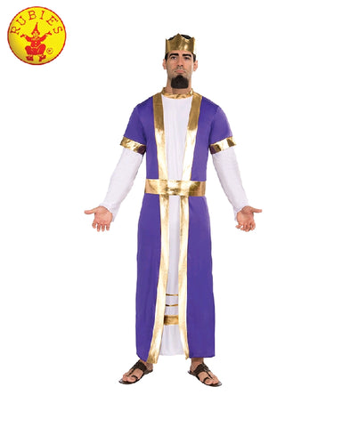 BIBLICAL KING COSTUME, ADULT - VARIOUS SIZES