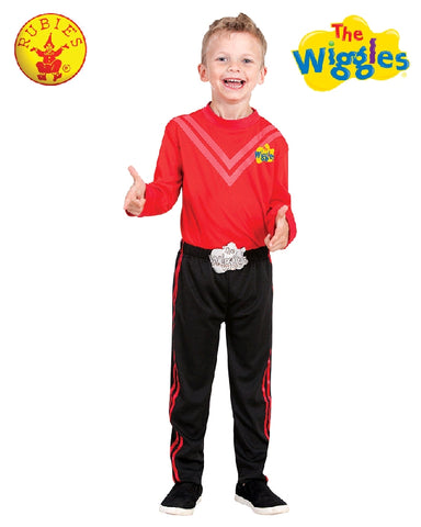 RED WIGGLES COSTUME, CHILD - SIZE 3-5