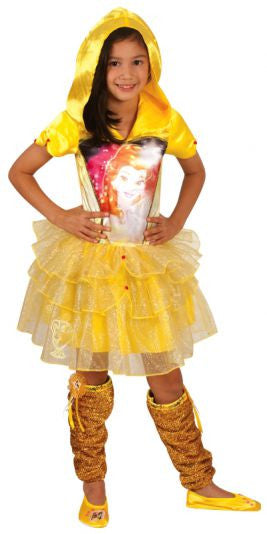 BELLE DISNEY HOODED COSTUME, CHILD - SIZE 6-8