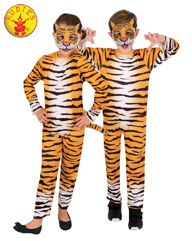 TIGER COSTUME, CHILD - SIZE 3-5