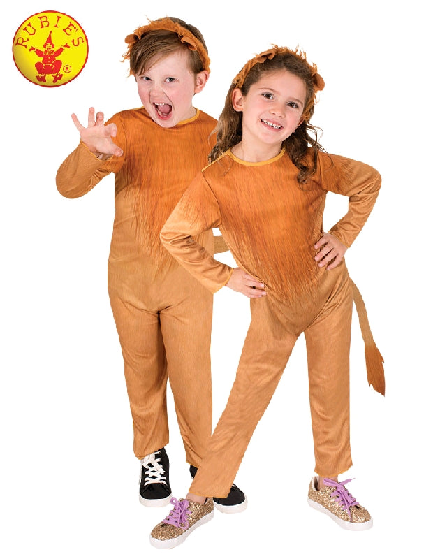 LION COSTUME, CHILD - SIZE 6-8