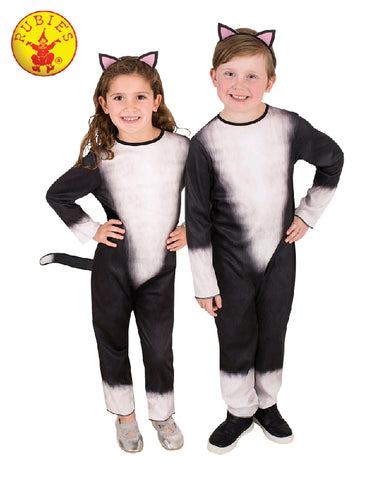 CAT COSTUME, CHILD - SIZE M (6-8)