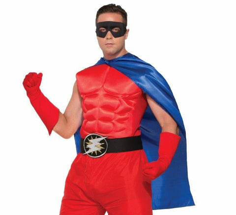 HERO CAPE, BLUE, ADULT - SIZE STD