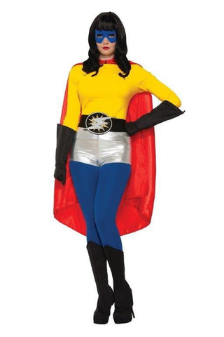 HERO CAPE, RED, ADULT - SIZE STD
