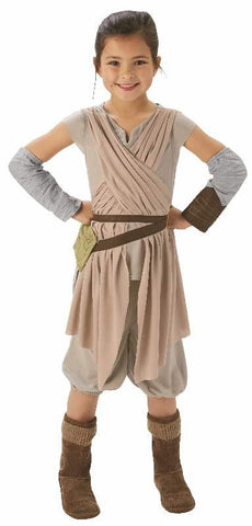 REY STAR WARS COSTUME, CHILD - VARIOUS SIZES