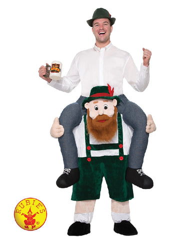 OKTOBERFEST PIGGY BACK COSTUME, ADULT - SIZE STD