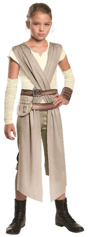 REY FORCE AWAKENS COSTUME, CHILD - SIZE 3-5