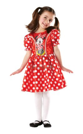 MINNIE MOUSE CLASSIC COSTUME, CHILD - SIZE S (3-5 YEARS OLD)