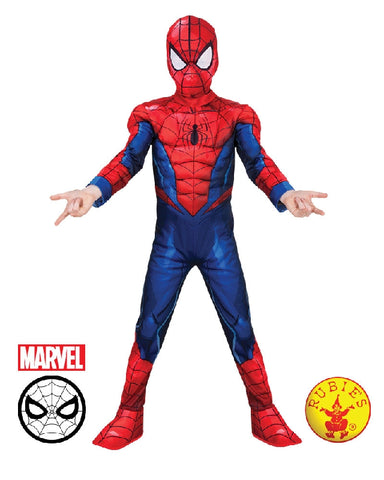 SPIDER-MAN DELUXE COSTUME, CHILD - SIZE 3-5