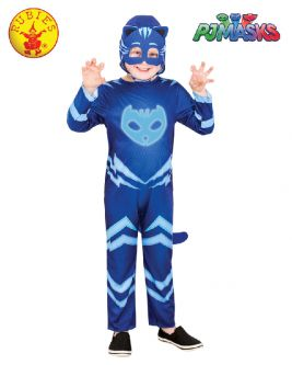 CATBOY GLOW IN THE DARK COSTUME, CHILD - SIZE 3-5