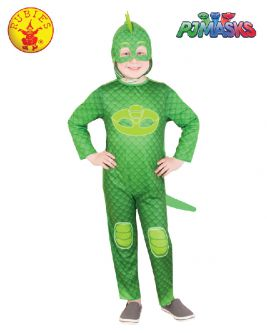 GEKKO GLOW IN THE DARK COSTUME, CHILD - SIZE 3-5