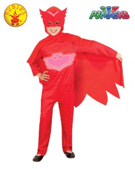 OWLETTE GLOW IN THE DARK COSTUME, CHILD - SIZE 3-5
