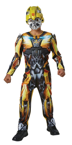 BUMBLEBEE TRANFORMERS DELUXE COSTUME, CHILD - SIZE 6-8