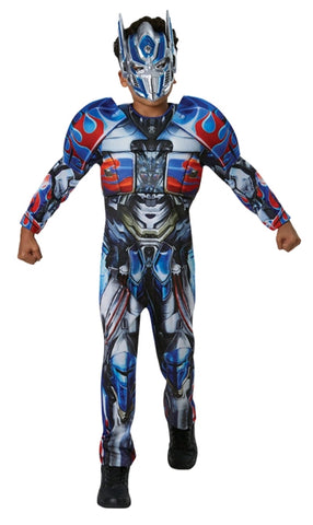 OPTIMUS PRIME TRANSFORMERS COSTUME, CHILD - SIZE 6-8
