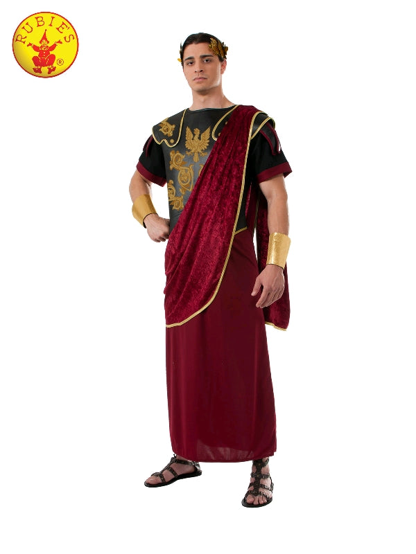 JULIUS CAESAR RED ROBE COSTUME, ADULT - SIZE STD
