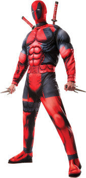 DEADPOOL DELUXE ADULT- SIZE XL