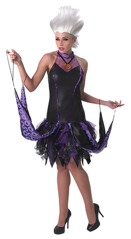 URSULA DELUXE ADULT COSTUME - SIZE S