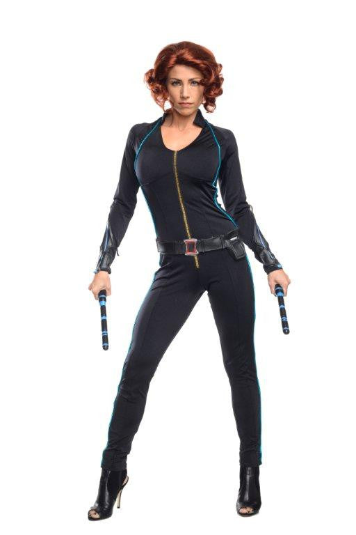 BLACK WIDOW AVENGERS 2 COSTUME, ADULT - SIZE S