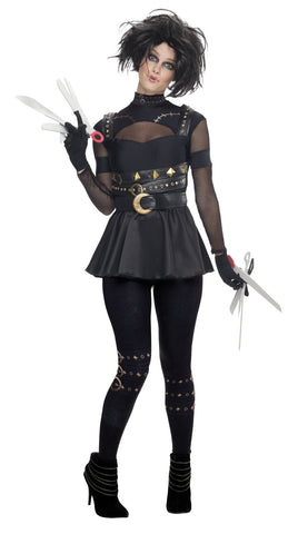 EDWARD SCISSORHANDS FEMALE COSTUME - SIZE S