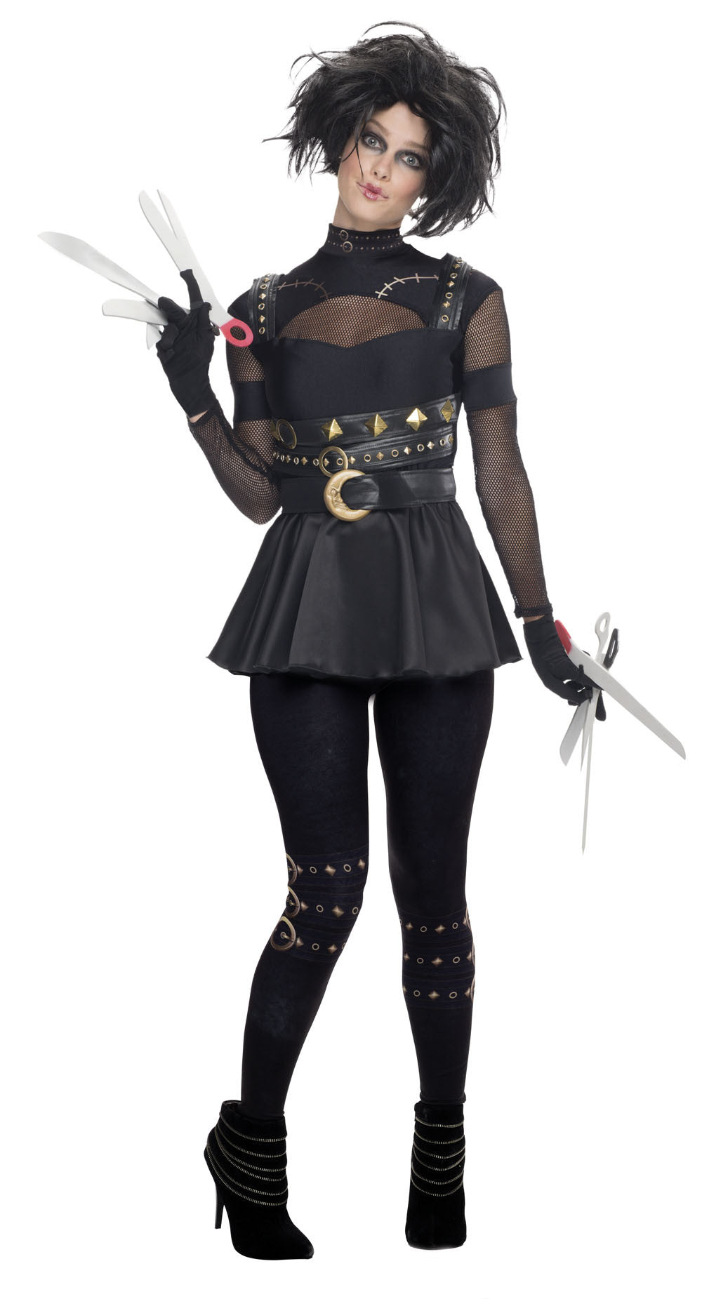 EDWARD SCISSORHANDS FEMALE COSTUME - SIZE L
