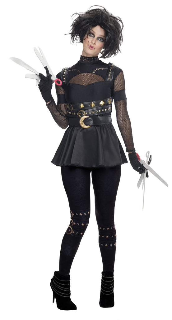 EDWARD SCISSORHANDS FEMALE COSTUME - SIZE XS