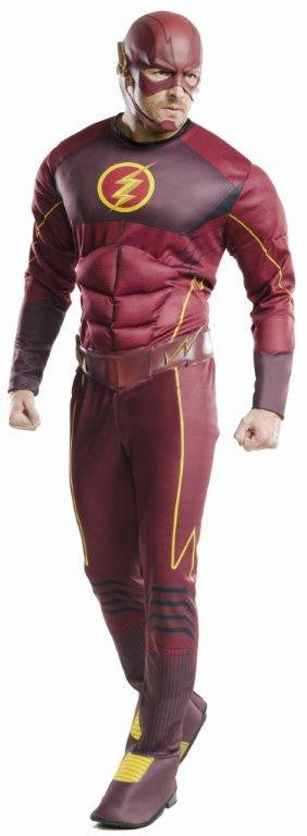 THE FLASH DELUXE COSTUME, ADULT - SIZE XL