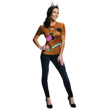 SCOOBY COSTUME TOP - SIZE S