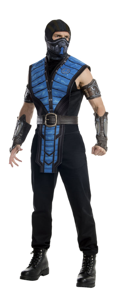 SUBZERO MORTAL KOMBAT COSTUME, ADULT - SIZE XL
