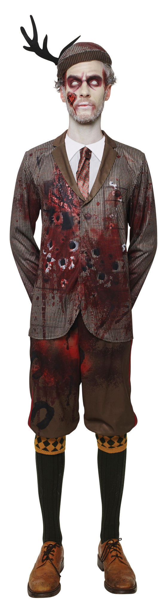 LORD GRAVESTONE ZOMBIE COSTUME, ADULT - SIZE STD
