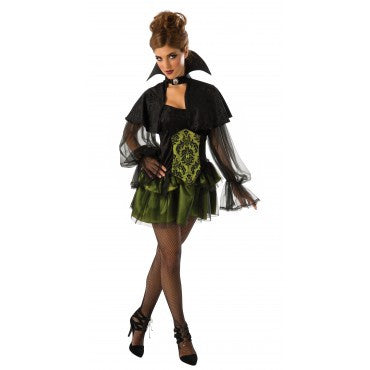 ELEGANT VAMPIRESS COSTUME, ADULT - SIZE STD