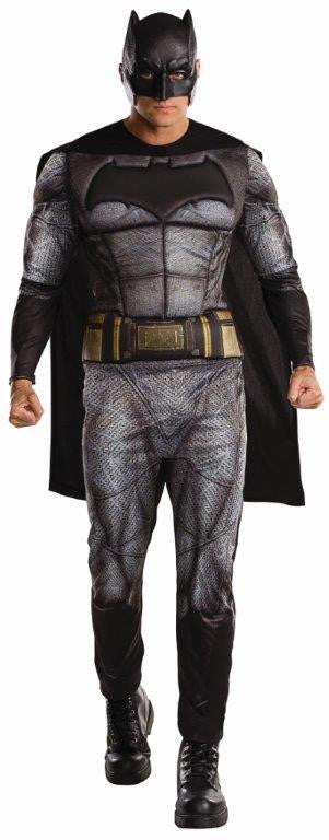 BATMAN DELUXE COSTUME, ADULT - SIZE STD