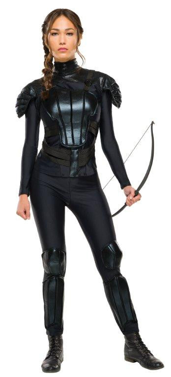 HUNGER GAMES KATNISS DELUXE COSTUME, ADULT - SIZE S