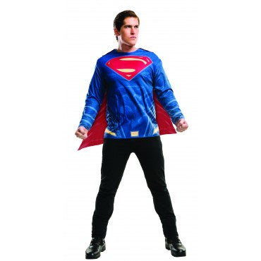 SUPERMAN DAWN OF JUSTICE COSTUME TOP - SIZE STD