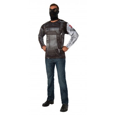 WINTER SOLDIER ADULT COSTUME TOP, ADULT - SIZE STD