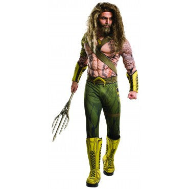 AQUAMAN ADULT DELUXE - SIZE STD