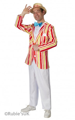BERT (MARY POPPINS) COSTUME, ADULT - SIZE XL
