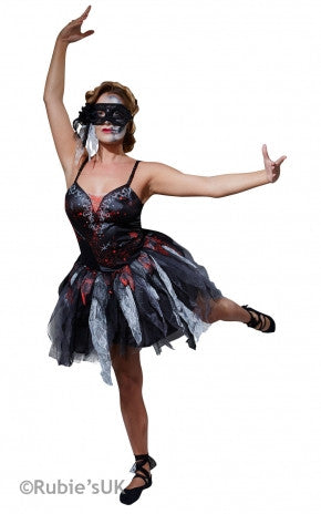 DEAD BALLERINA 'TOY GORY' COSTUME, ADULT - SIZE S