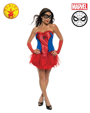 SPIDER-LADY TUTU COSTUME, ADULT- SIZE L