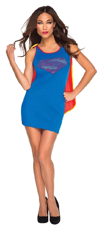 SUPERGIRL TANK DRESS - SIZE S