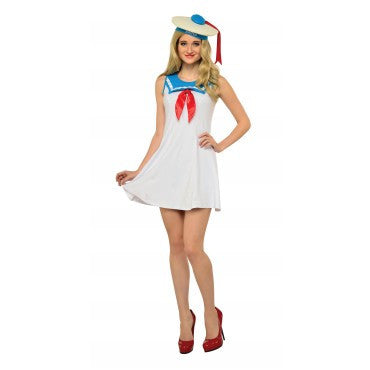 STAY PUFT FLAIR DRESS - SIZE L