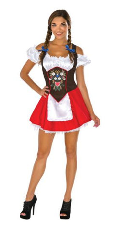 BEER GARDEN BABE COSTUME, ADULT - SIZE STD