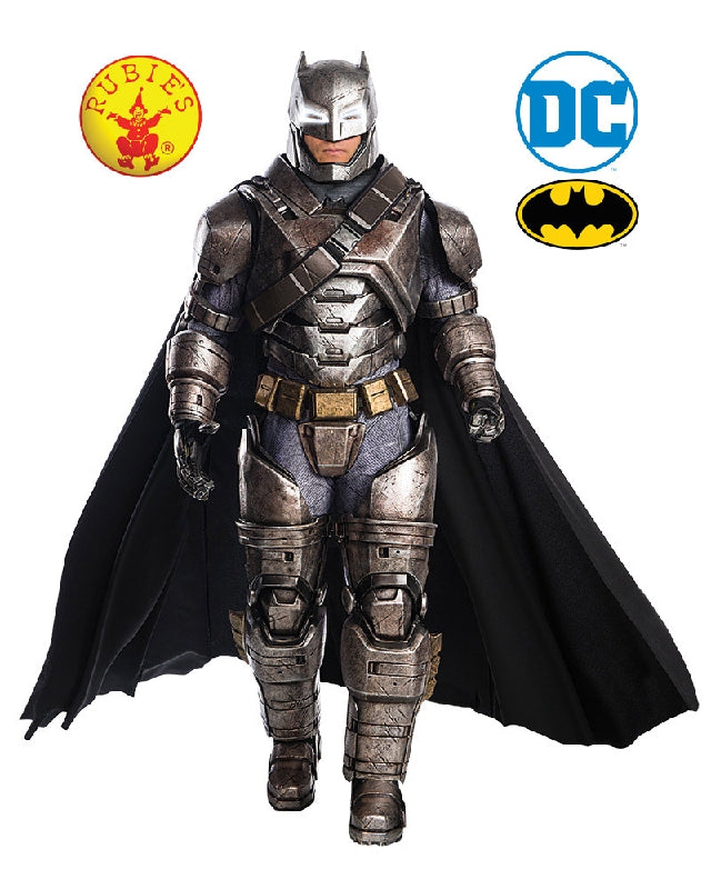 BATMAN ARMOURED COLLECTABLE COSTUME, ADULT - SIZE STD