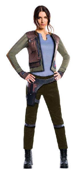 JYN ERSO ROGUE ONE DELUXE ADULT- SIZE S