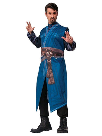 DR STRANGE SUPERHERO COSTUME, ADULT - SIZE STD