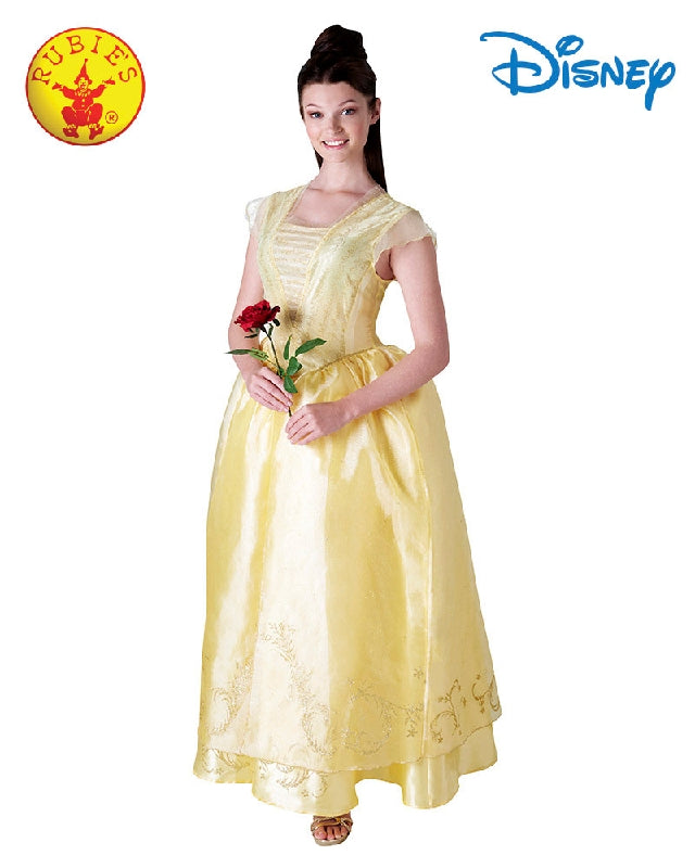 BELLE DISNEY DELUXE COSTUME, ADULT - SIZE S