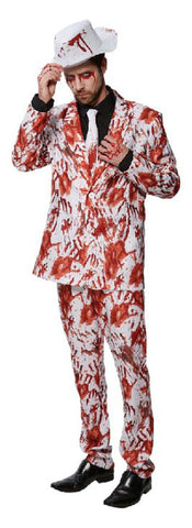 BLOODY HANDS HALLOWEEN SUIT, ADULT - SIZE STD