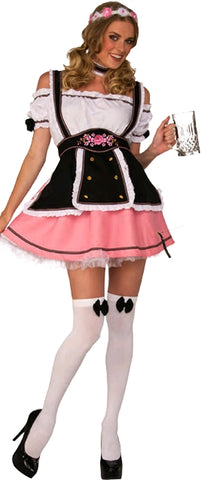 FRAULEIN COSTUME, ADULT - SIZE S