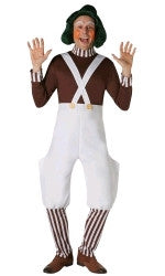 OOMPA LOOMPA DELUXE COSTUME, ADULT