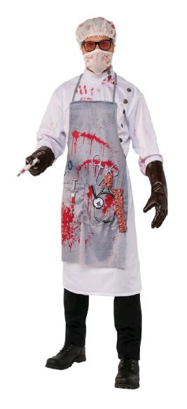 MAD SCIENTIST COSTUME, ADULT - SIZE XL